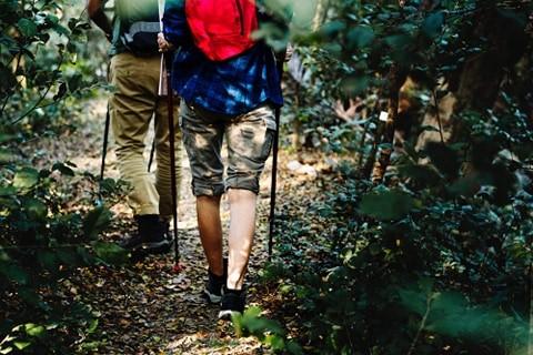 La randonnée pédestre